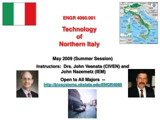 ENGR 4060.001 Technology  of  Northern Italy