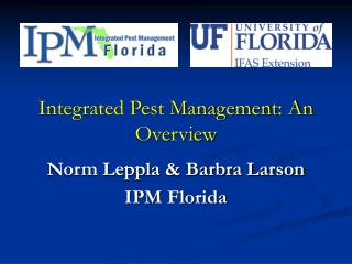 Integrated Pest Management: An Overview