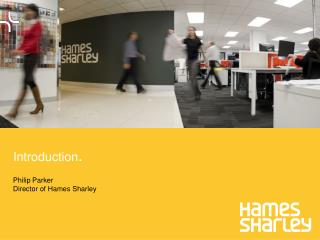 Philip Parker  Director  of Hames  Sharley