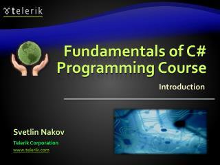 Fundamentals of C# Programming Course