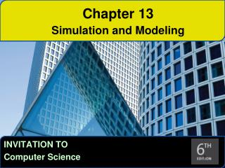 Chapter 13 Simulation and Modeling