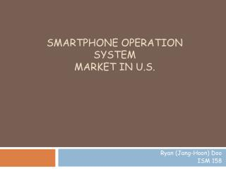 Smartphone Operation System Market in U.S.