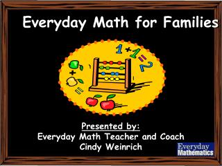 Everyday Math for Families