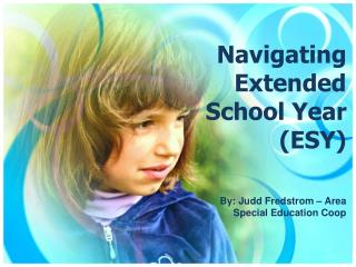 Navigating Extended School Year (ESY)