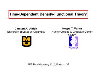 Time-Dependent Density-Functional Theory