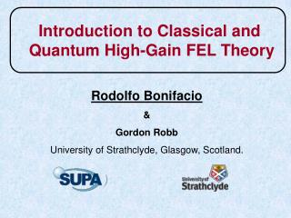 Introduction to Classical and  Quantum High-Gain FEL Theory