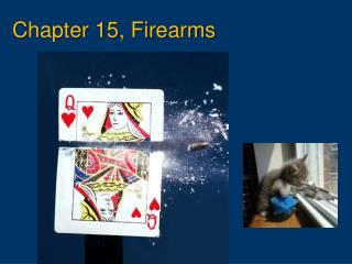 Chapter 15, Firearms
