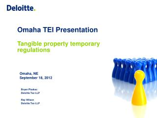 Omaha TEI Presentation Tangible property temporary regulations