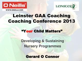 Leinster GAA Coaching Coaching Conference 2013