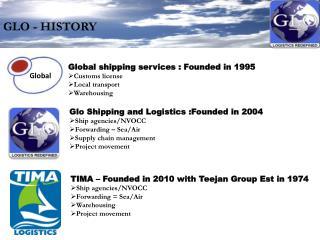 GLO - HISTORY