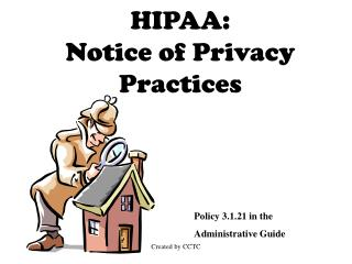 HIPAA: Notice of Privacy Practices