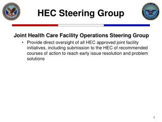 HEC Steering Group