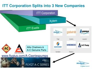 ITT Corporation Splits into 3 New Companies
