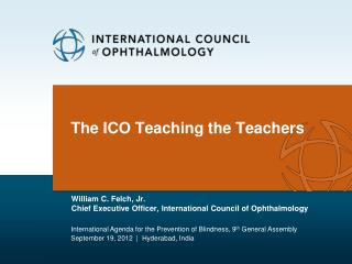 The ICO Teaching the Teachers
