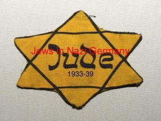 Jews in Nazi Germany
