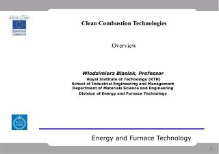Energy and Furnace Technology