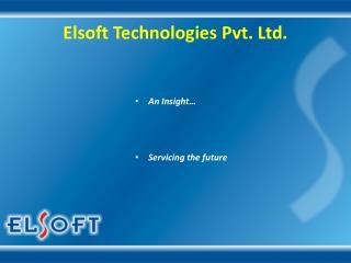 Elsoft Technologies Pvt. Ltd.