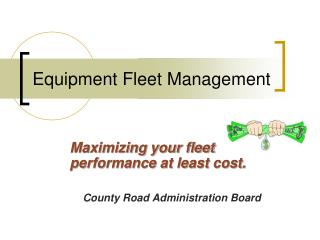 Equipment Fleet Management