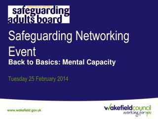 Safeguarding Networking Event