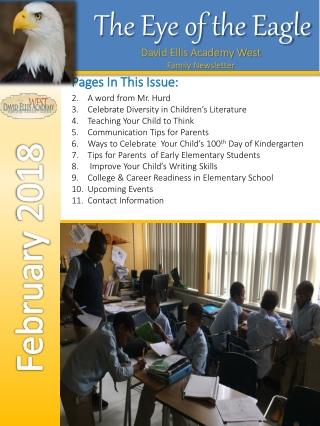 David Ellis Academy West Family Newsletter