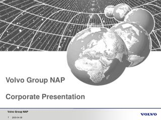 Volvo Group NAP Corporate Presentation