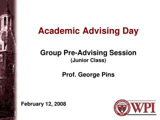 Academic Advising Day