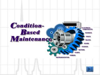 Conditioned-Based Maintenance