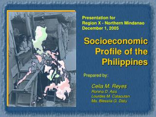Socioeconomic Profile of the  Philippines
