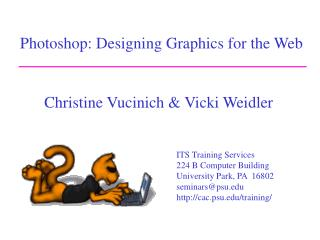 Photoshop: Designing Graphics for the Web