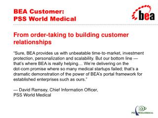 BEA Customer: PSS World Medical
