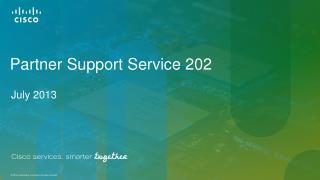 Partner Support Service 202