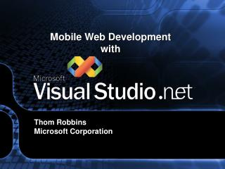 Mobile Web Development  with