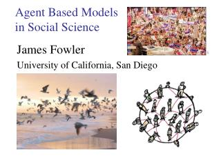 Agent Based Models  in Social Science