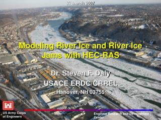 Modeling River Ice and River Ice Jams with HEC-RAS