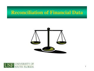 Reconciliation of Financial Data