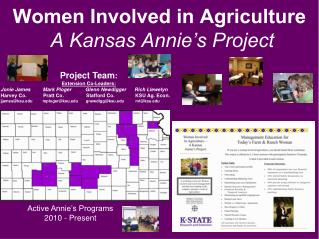 Women Involved in Agriculture  A Kansas Annie's Project