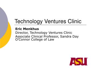 Technology Ventures Clinic