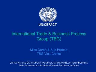 International Trade & Business Process Group (TBG)