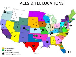 ACES & TEL LOCATIONS