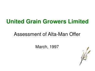 United Grain Growers Limited