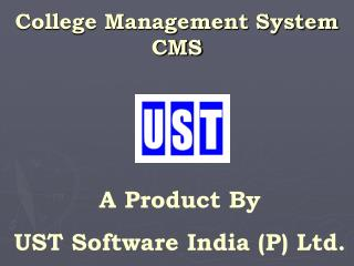 College Management System CMS