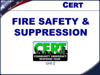 FIRE SAFETY & SUPPRESSION