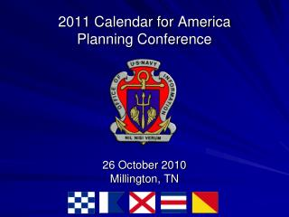 2011 Calendar for America  Planning Conference