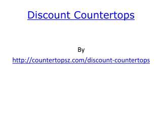 discount countertops