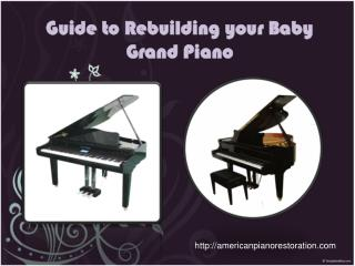 Pianos are probably the most widely used musical instruments