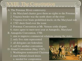 XXIII. The Constitution
