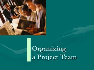 Organizing a Project Team