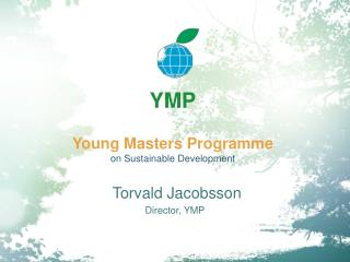 YMP Young Masters Programme  on Sustainable Development