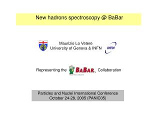 New hadrons spectroscopy @ BaBar