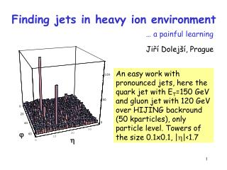 Finding jets in heavy ion environment